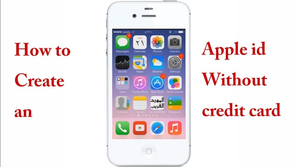people have how to create apple account without credit card Cellular network connection