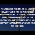 How Do I Get A Home Equity Loan With Bad Credit?